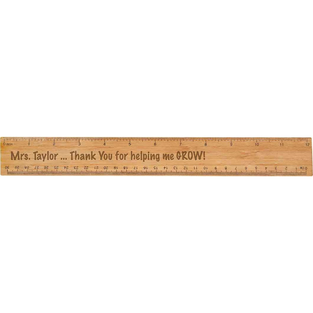 Bamboo Ruler - Office Gifts