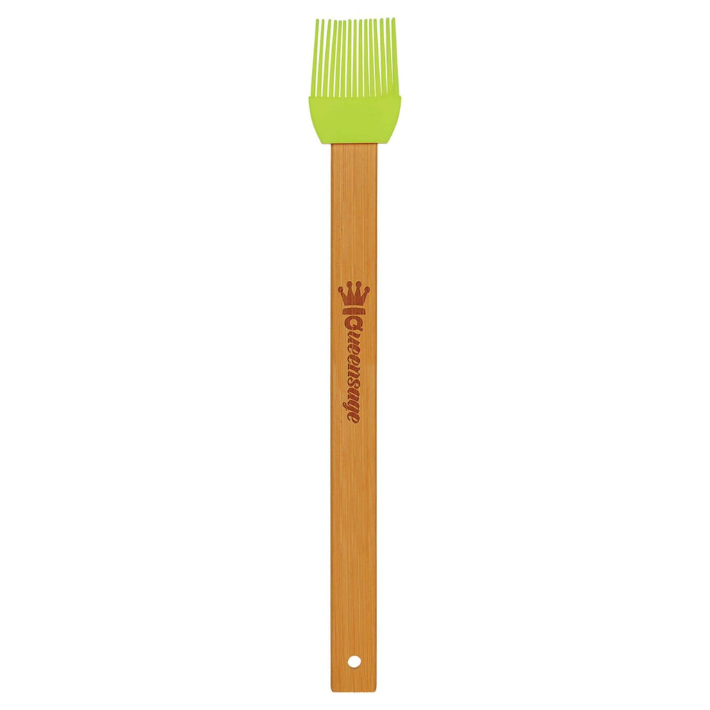 Bamboo Silicon Baster Brush - Green - Home Gifts
