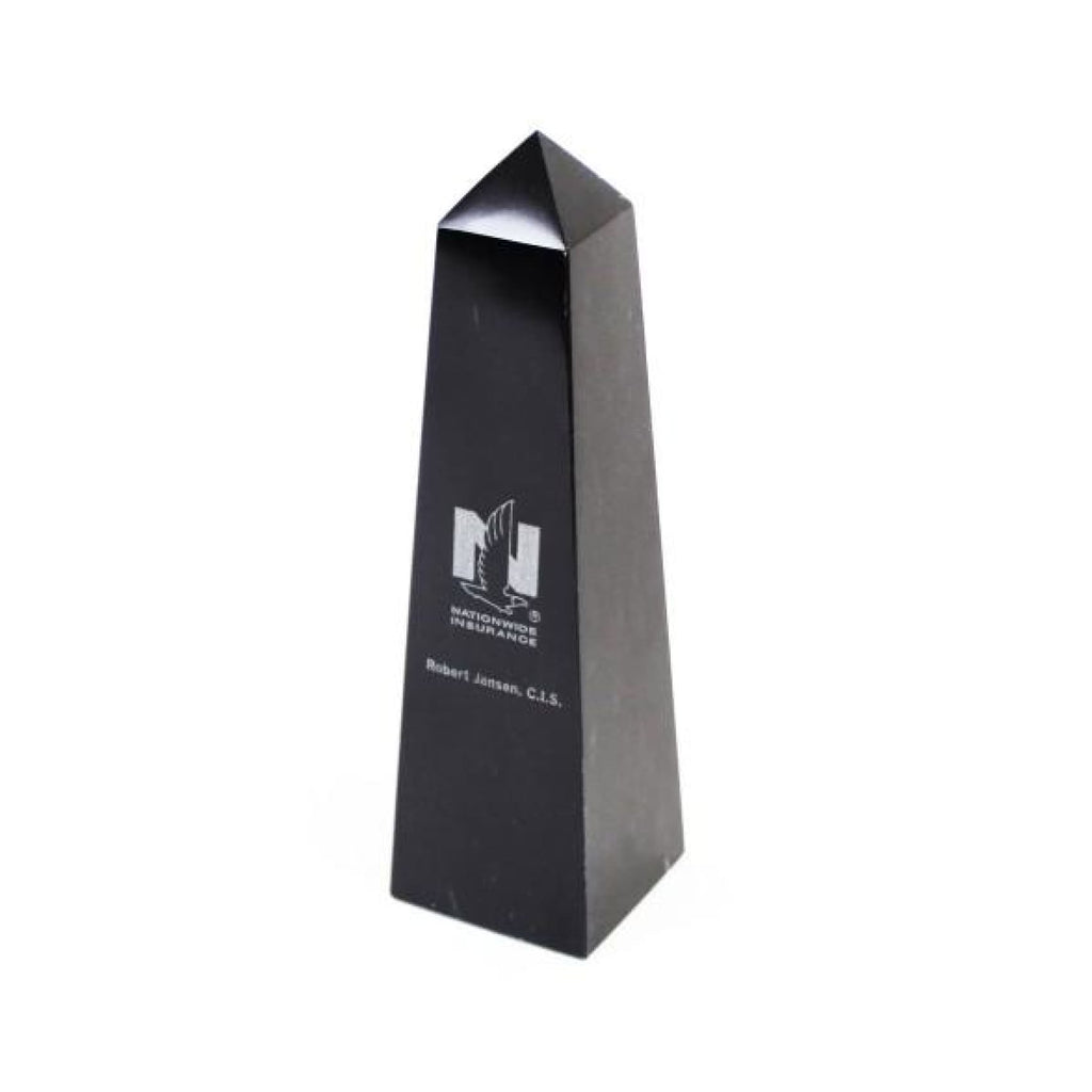 Black Marble Pinnacle Award - Office Gifts