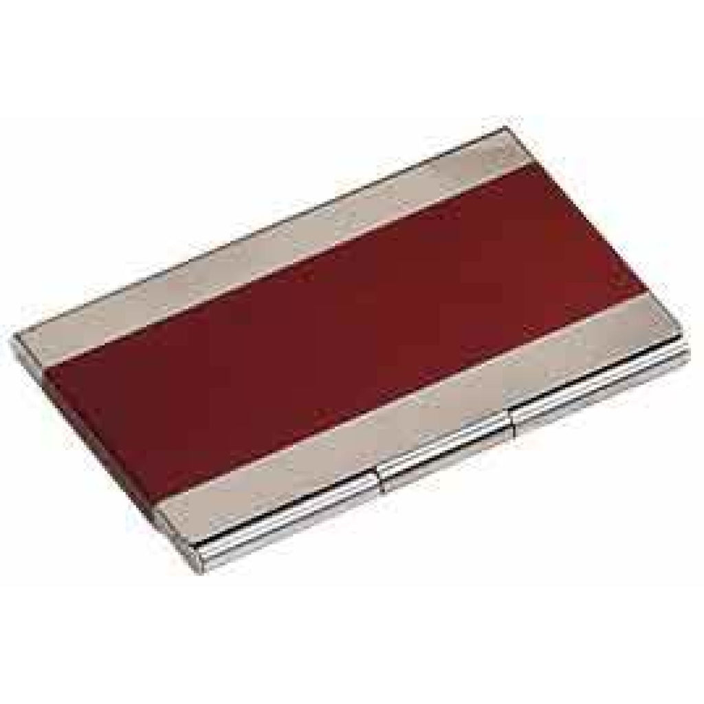 Business Card Holder - Red - Office Gifts