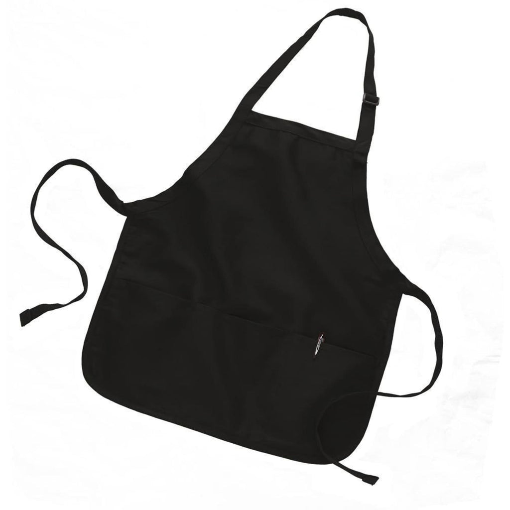 Canvas Apron - Black - Bags & Apparel