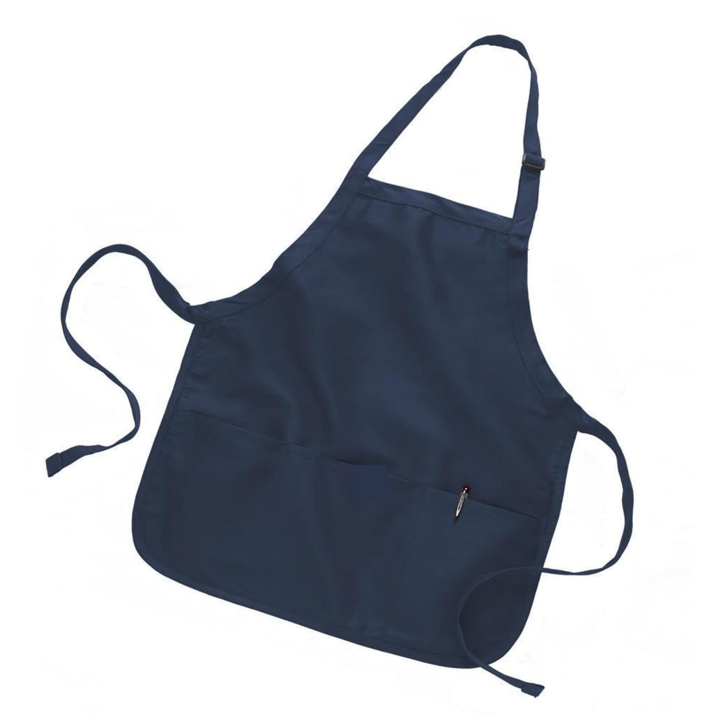 Canvas Apron - Navy - Bags & Apparel