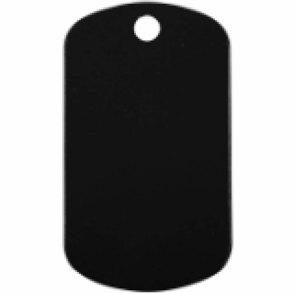 Charm or Pet Tag - Dog Tag / Black - Bags & Apparel