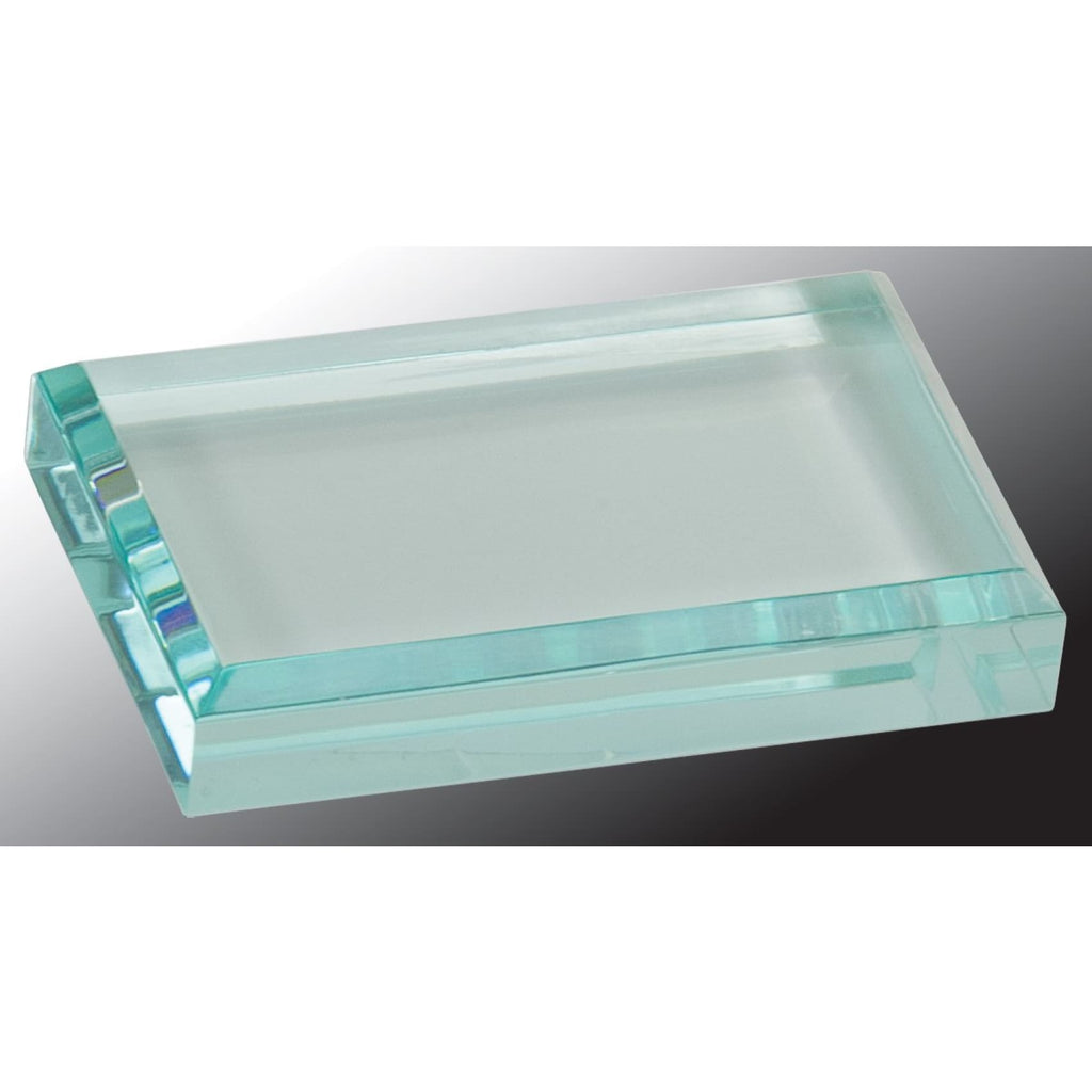 Clear Acrylic Paperweight - Office Gifts