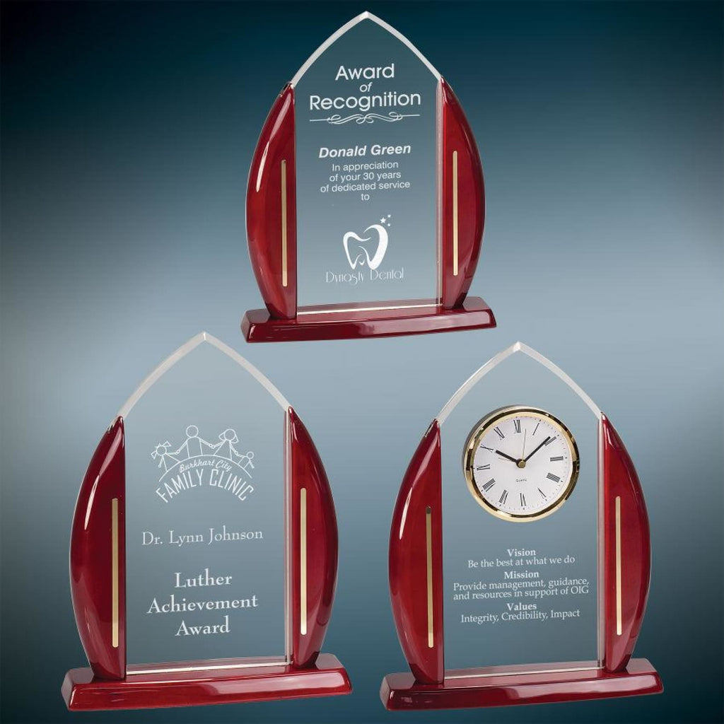 Clear Arch Award - Acrylic Awards