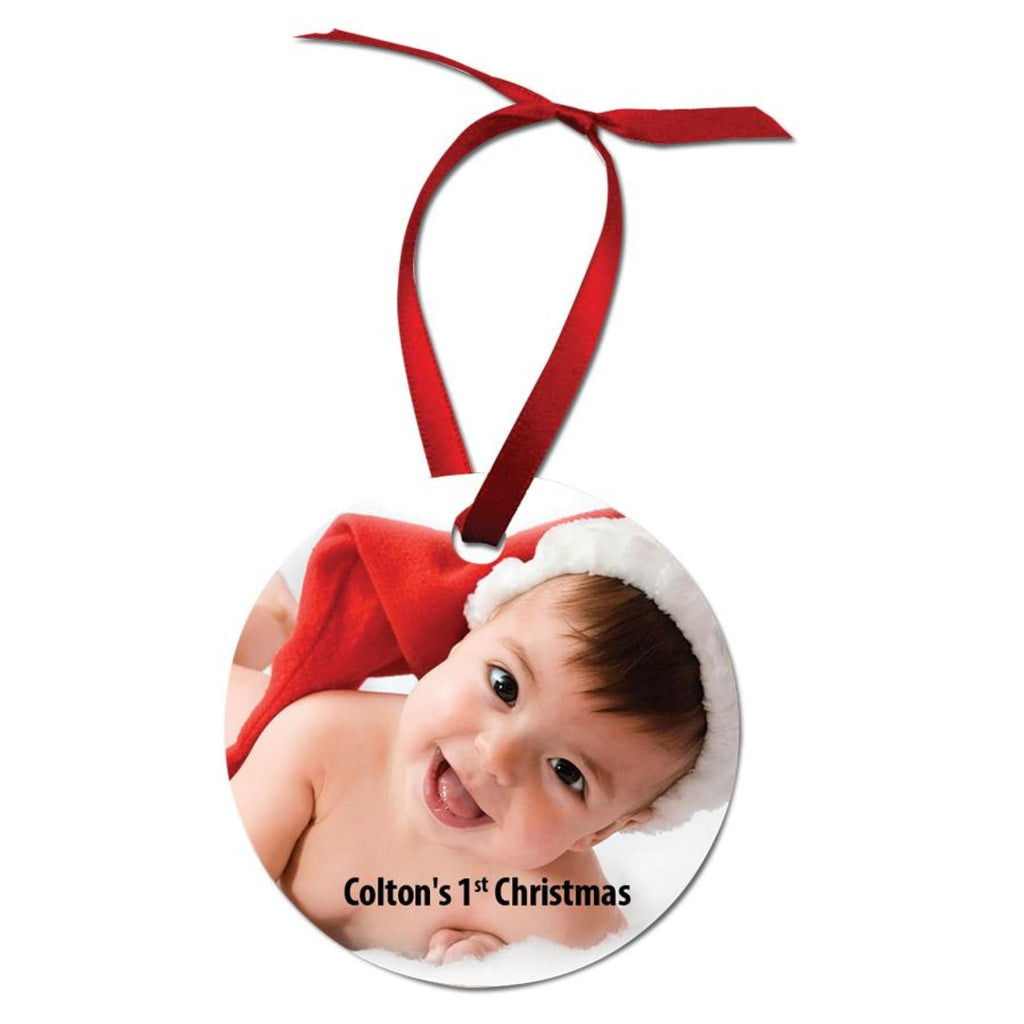 Color Aluminum Ornaments - 2.75 Round - Home Gifts