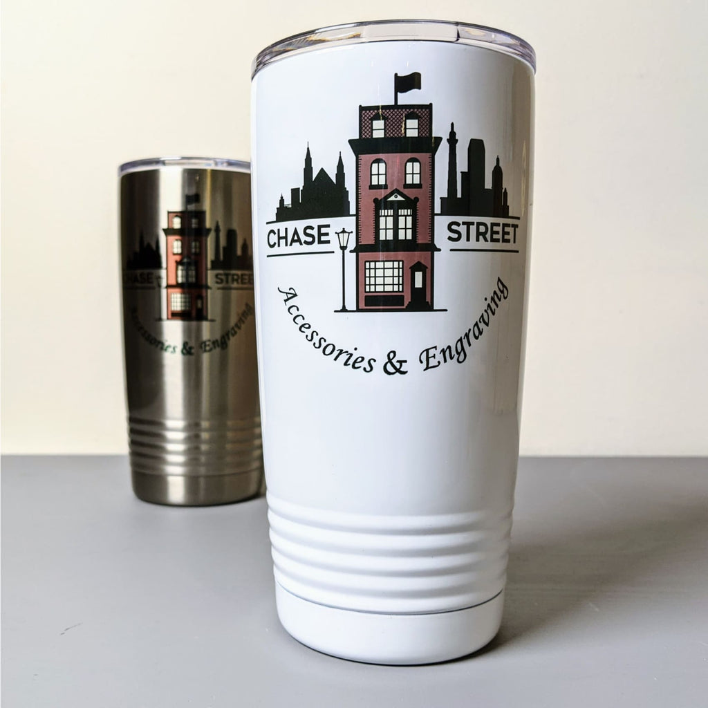 Color Stainless Steel Tumbler - Drinkware