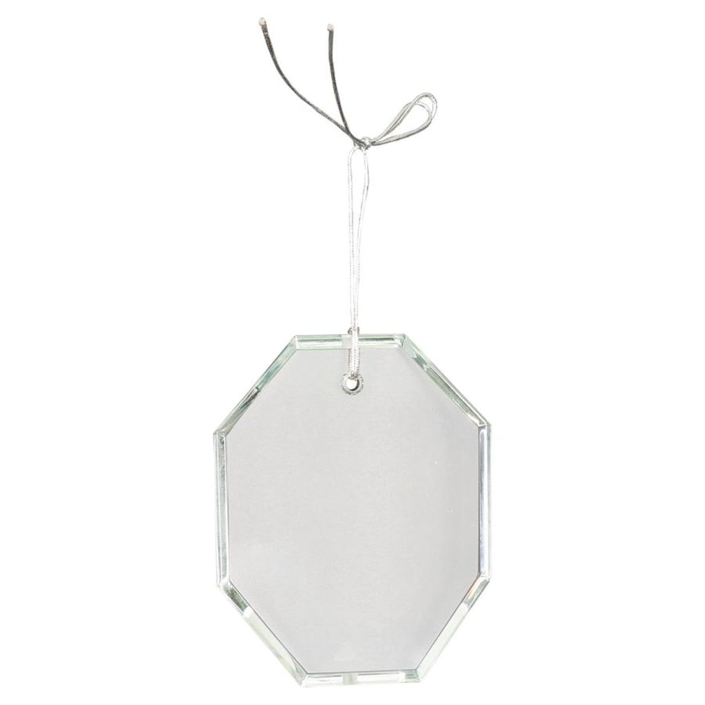 Crystal Ornaments - 3.5 octagon - Office Gifts