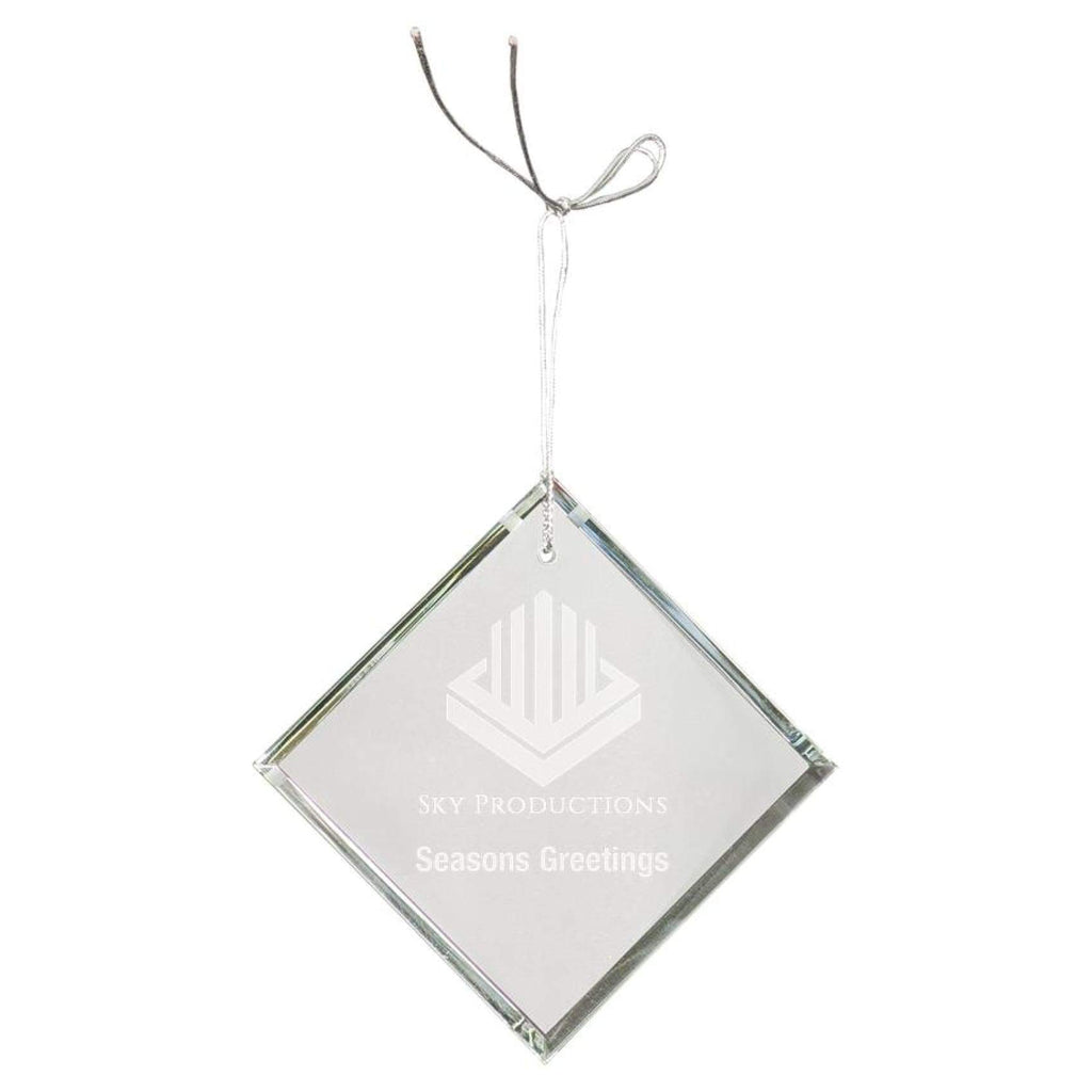Crystal Ornaments - 3 diamond - Office Gifts