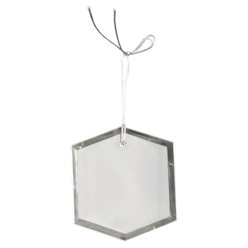 Crystal Ornaments - 3 hexagon - Office Gifts