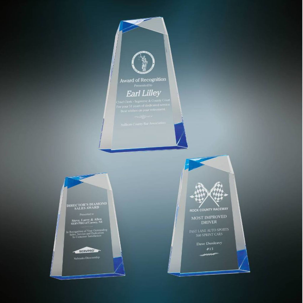 Faceted Acrylic Award - Acrylic Awards