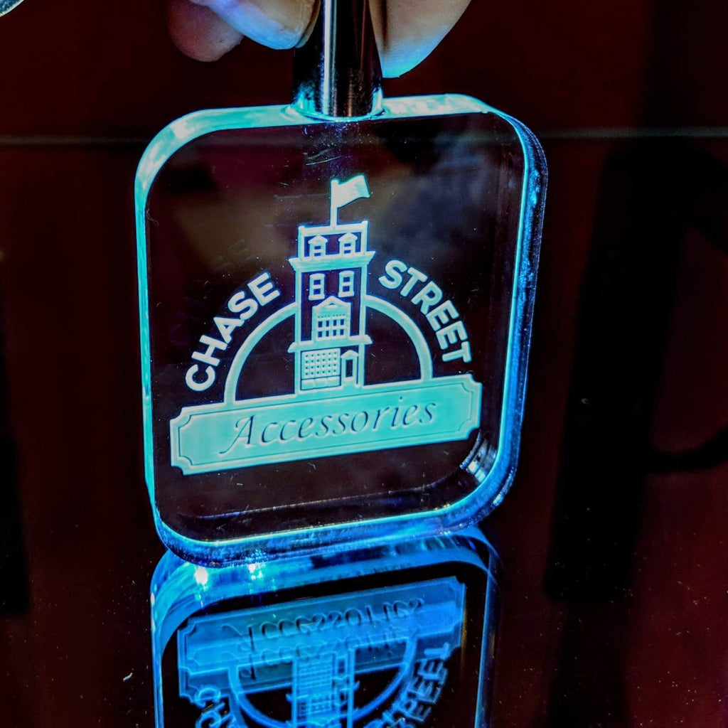 Glowing LED Keychain - Home Gifts
