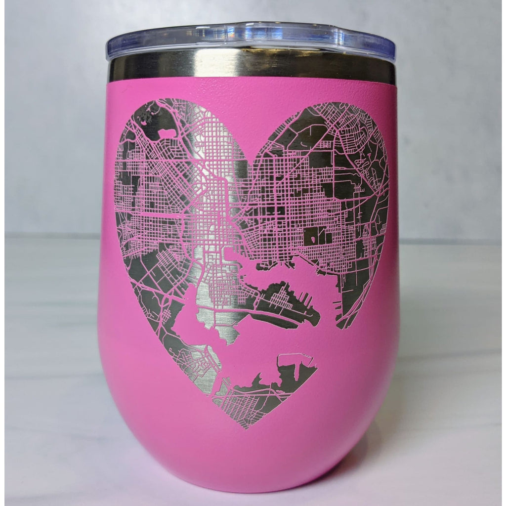 Heart of Baltimore Stainless Steel Mug - Chase Street Originals