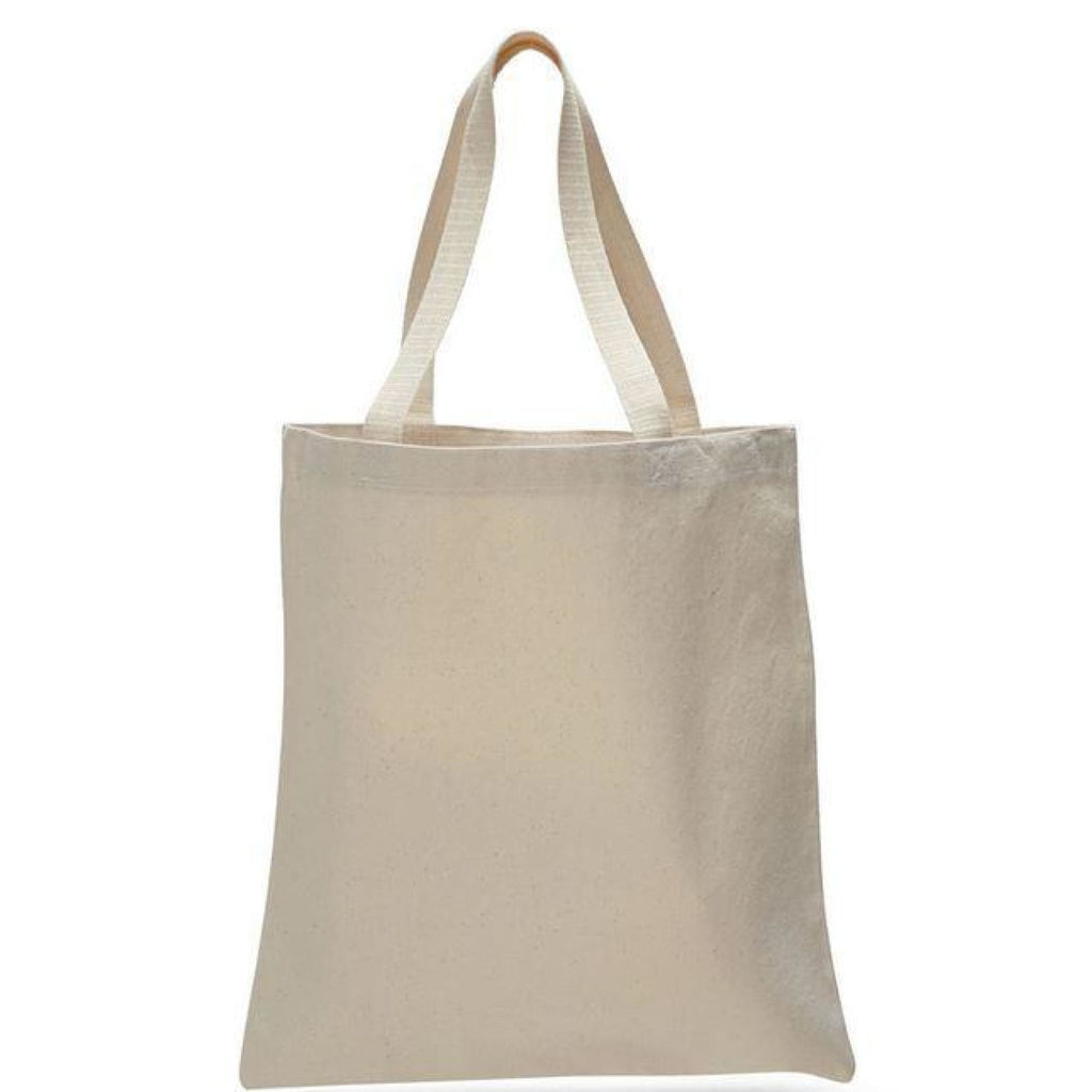 Large Canvas Tote - Natural - Bags & Apparel