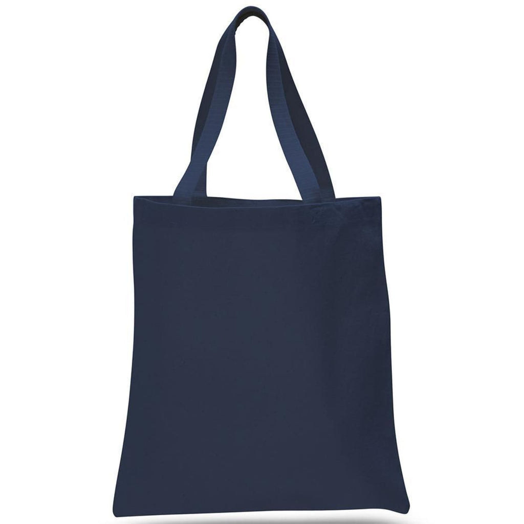 Large Canvas Tote - Navy - Bags & Apparel