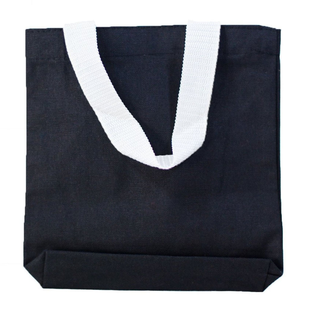 Mini Canvas Gift Tote - Black - Bags & Apparel