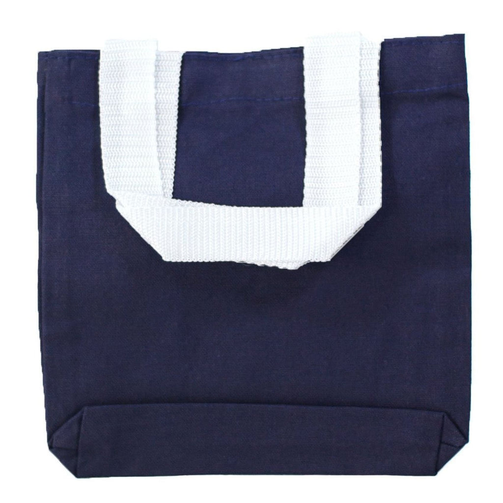 Mini Canvas Gift Tote - Navy - Bags & Apparel