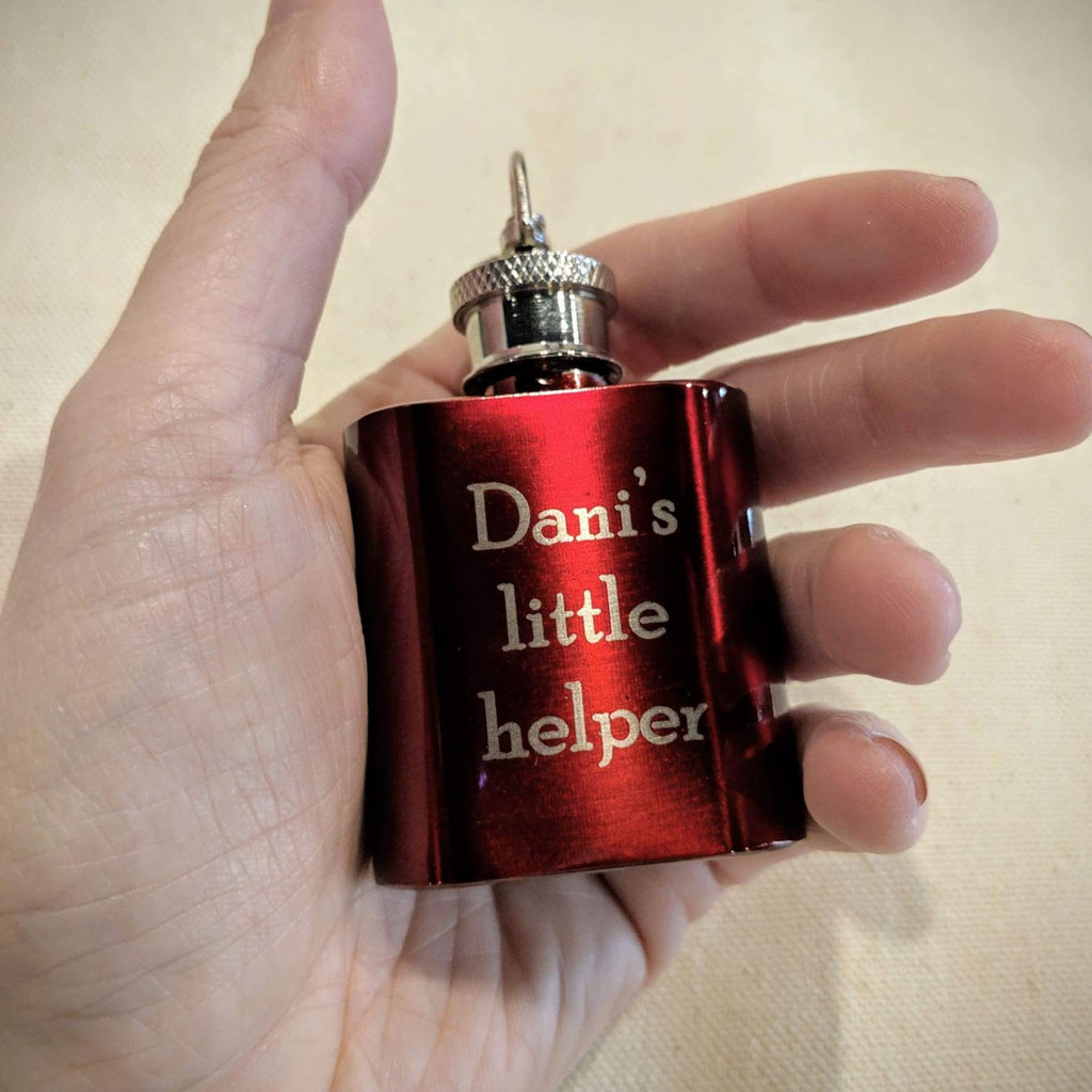 Mini Flask Keychain - Drinkware