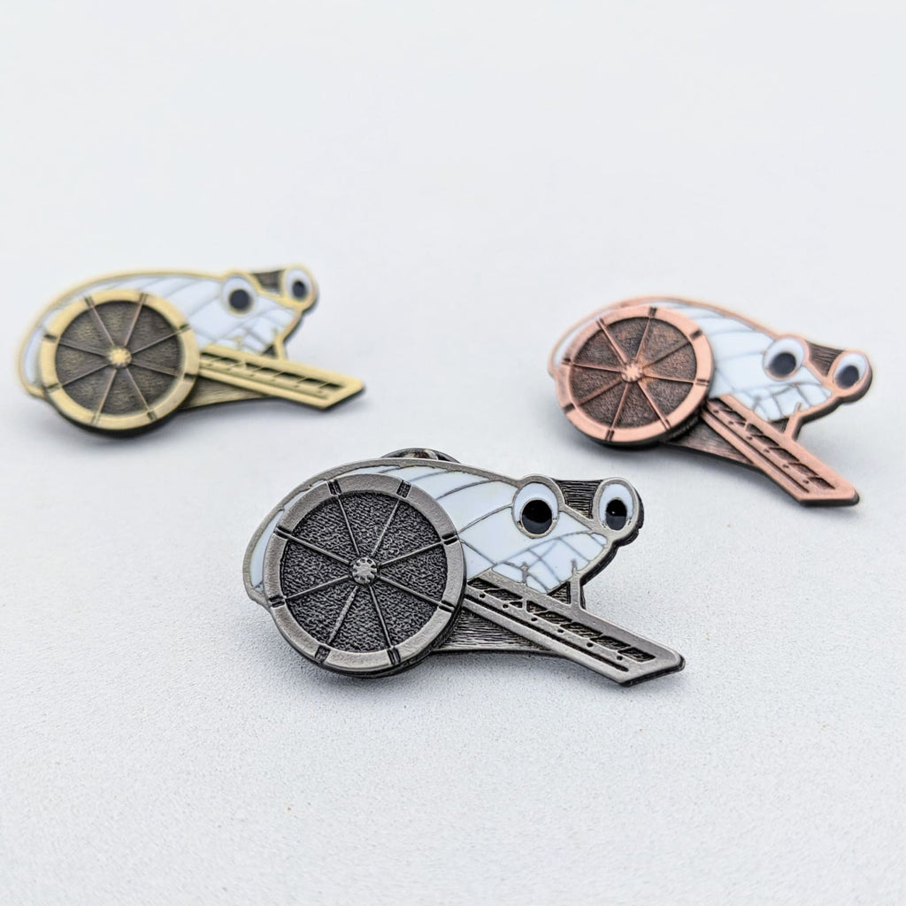 Mr. Trash Wheel Kinetic Pin - Chase Street Originals