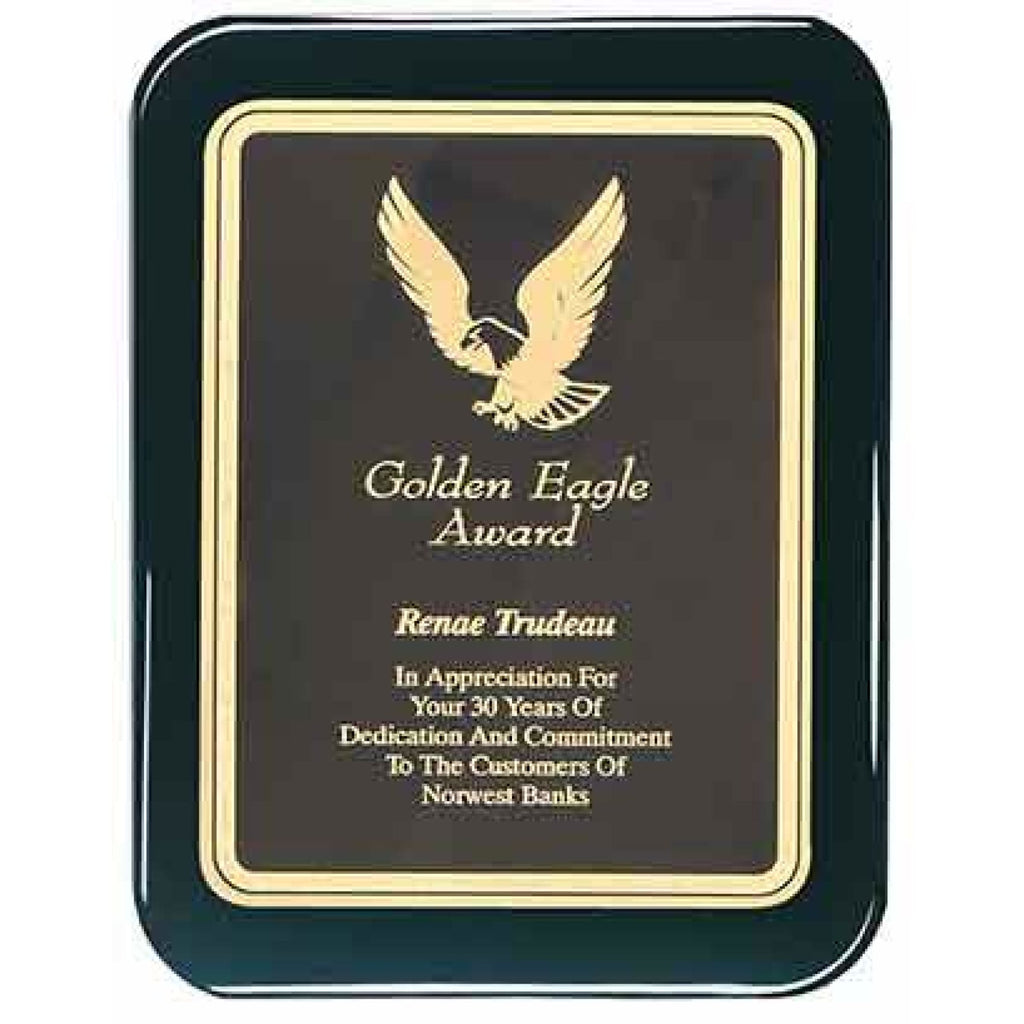 Piano Finish Plaque - Round Corners - Plaques