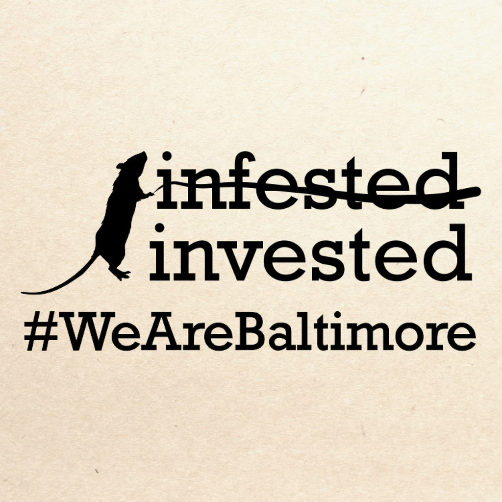 Rat-Invested Baltimore Shirt - Chase Street Originals