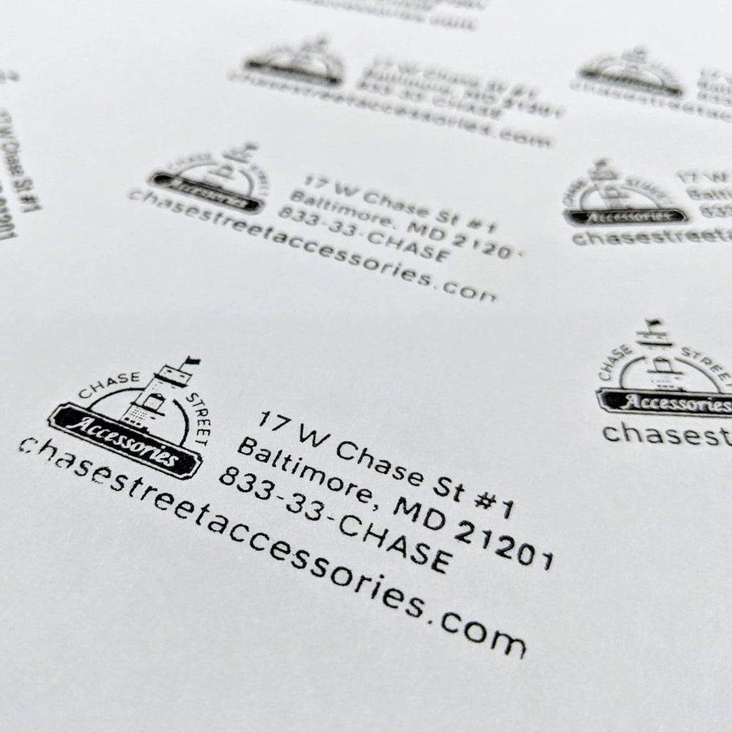 Custom Self-Inking Stamp - Office Gifts