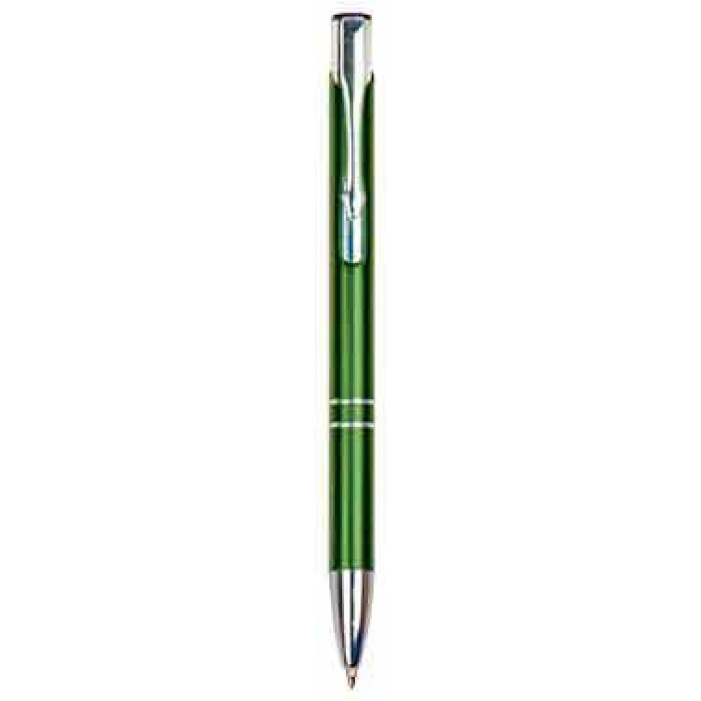 Silver-Trimmed Pen - Green - Office Gifts