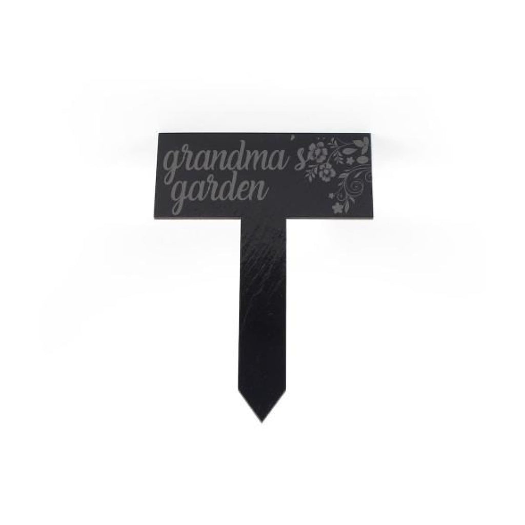 Slate Garden Stake 7x9.5 - Home Gifts
