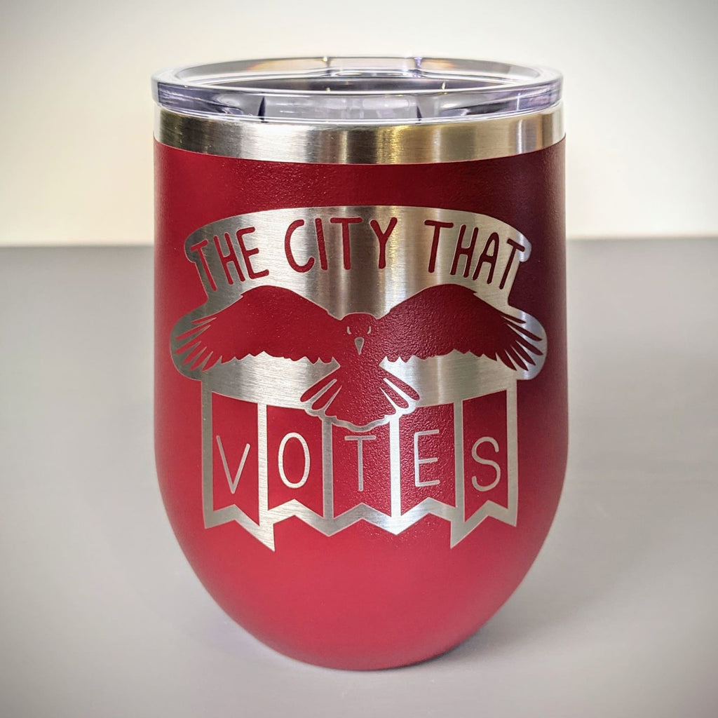 The City that Votes Stainless Steel Mug - Chase Street Originals