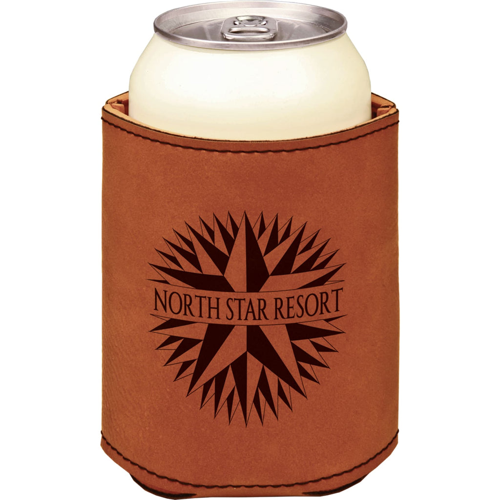 Vegan Leather Beverage Cooler - Rawhide - Office Gifts