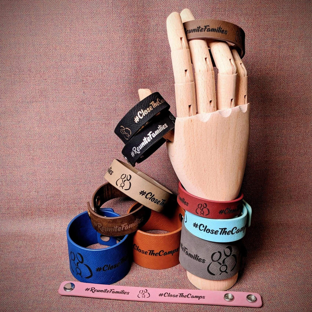 Vegan Leather Bracelet - Bags & Apparel