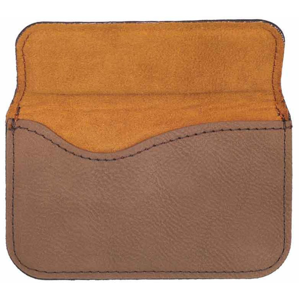 Vegan Leather Business Card Holder - Office Gifts