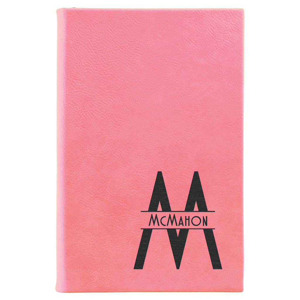Vegan Leather Journal - Pink - Office Gifts