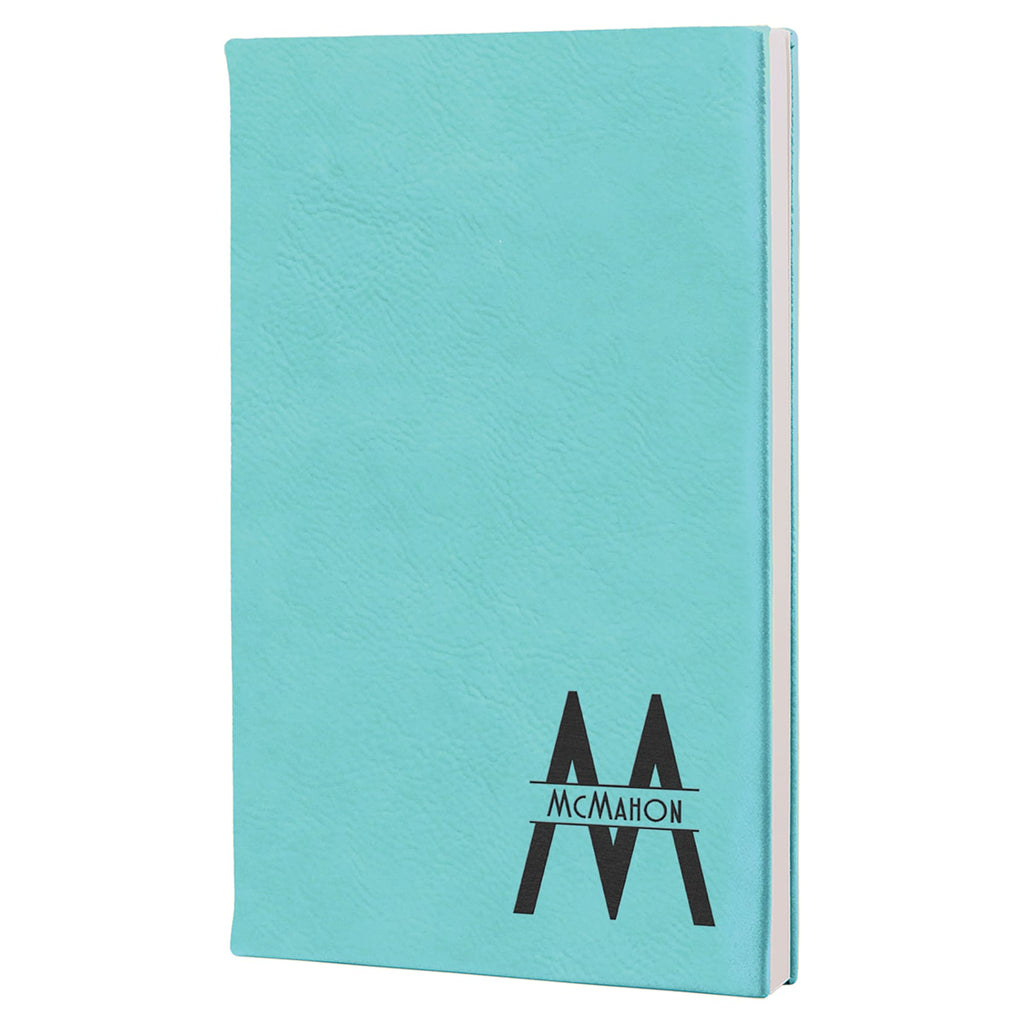 Vegan Leather Journal - Teal - Office Gifts