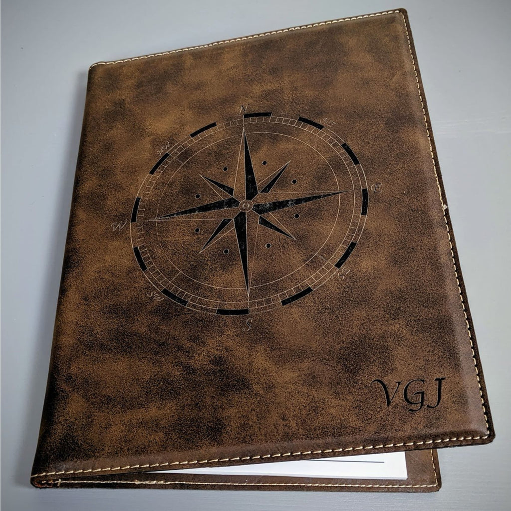 Vegan Leather Small Portfolio - Office Gifts