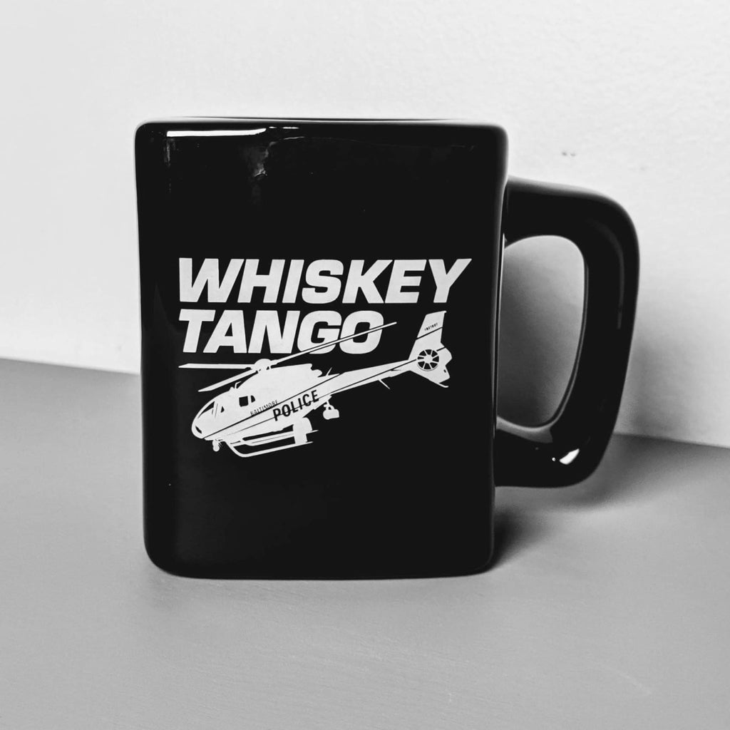 Whiskey Tango (Foxtrot) Baltimore Square Mug - Chase Street Originals