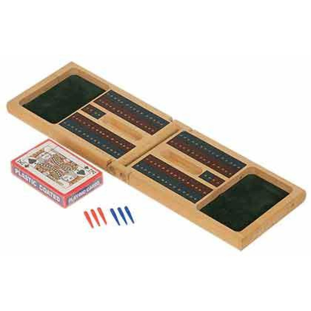 Wood Cribbage Set - Home Gifts