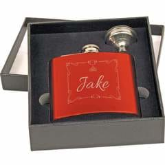 Chase Street Accessories & Engraving Personalized Flask for Wedding