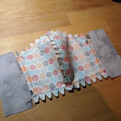 Sewing a cotton mask with filter pocket - Chase Street Accessories & Engraving
