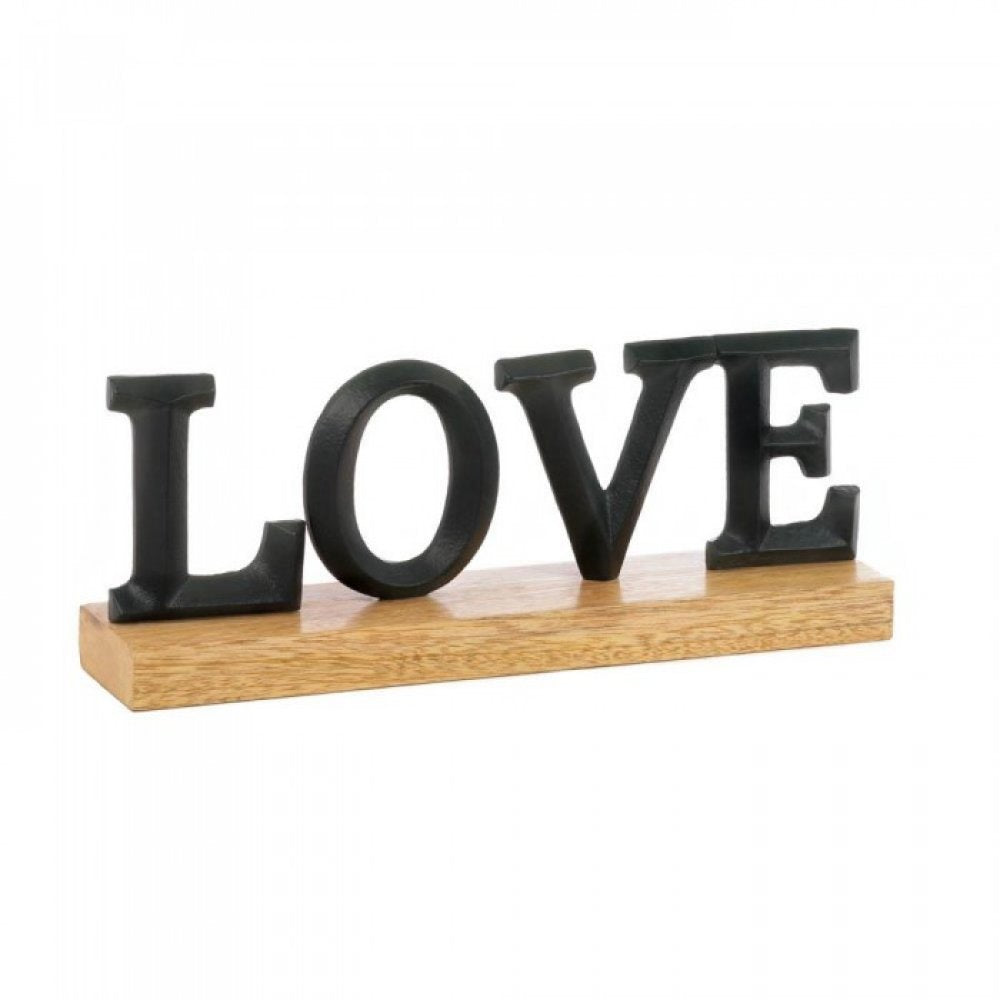 Love Block Letter Decor