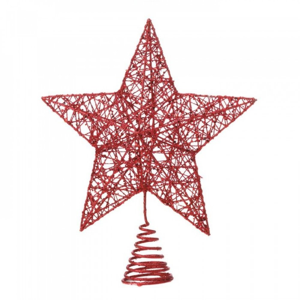 Red Star Tree Topper