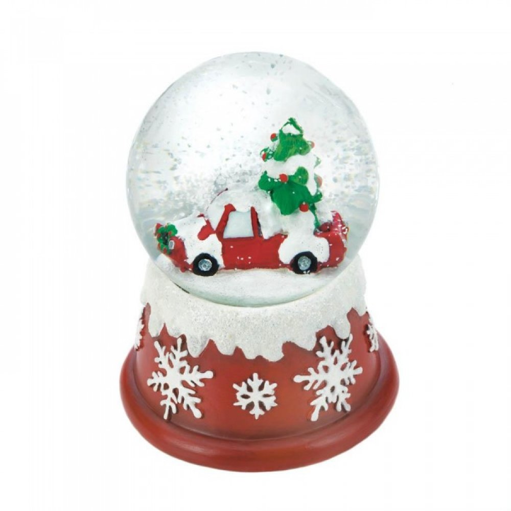 Holiday Tree Snow Globe