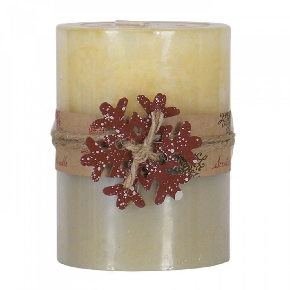 Hot Buttered Rum Pillar Candle 3x4