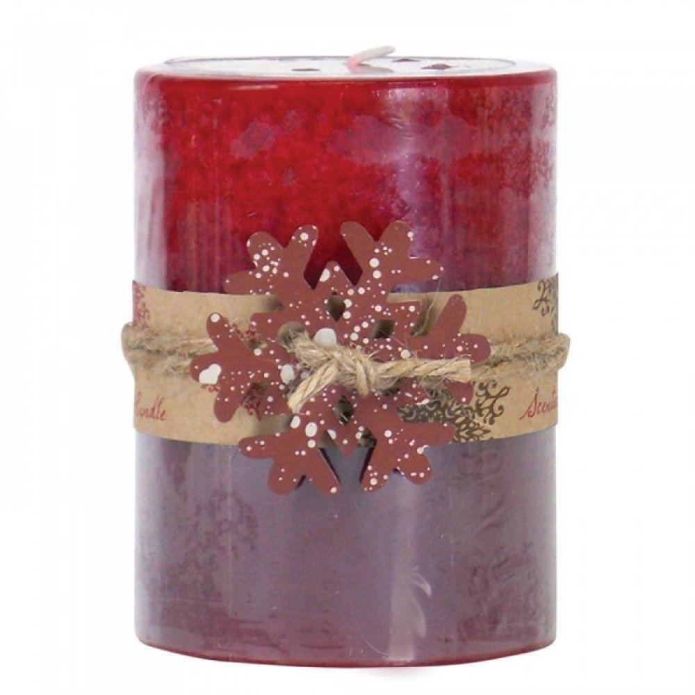 Apple Spice Pillar Candle 3x4