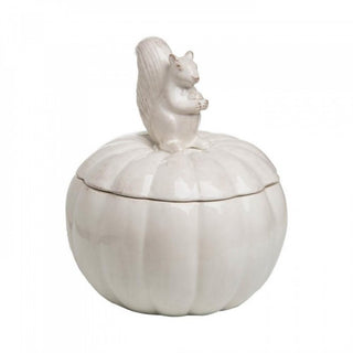 Squirrel & Pumpkin Cookie Jar