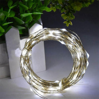 100 Led Fairy Lights Usb-cool White