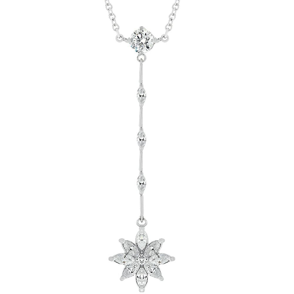 Chandelier Marquise Flower Pendant