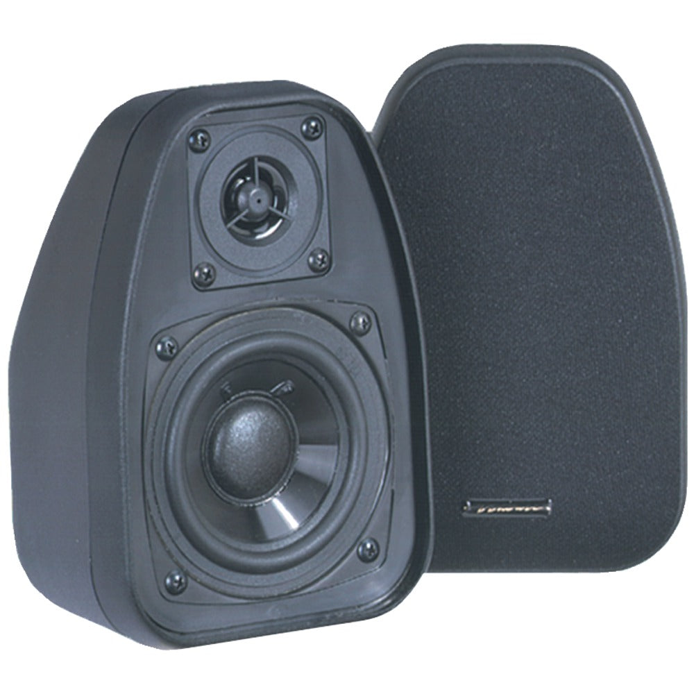 "Bic Venturi 3.5"" Bookshelf Speakers (black)"