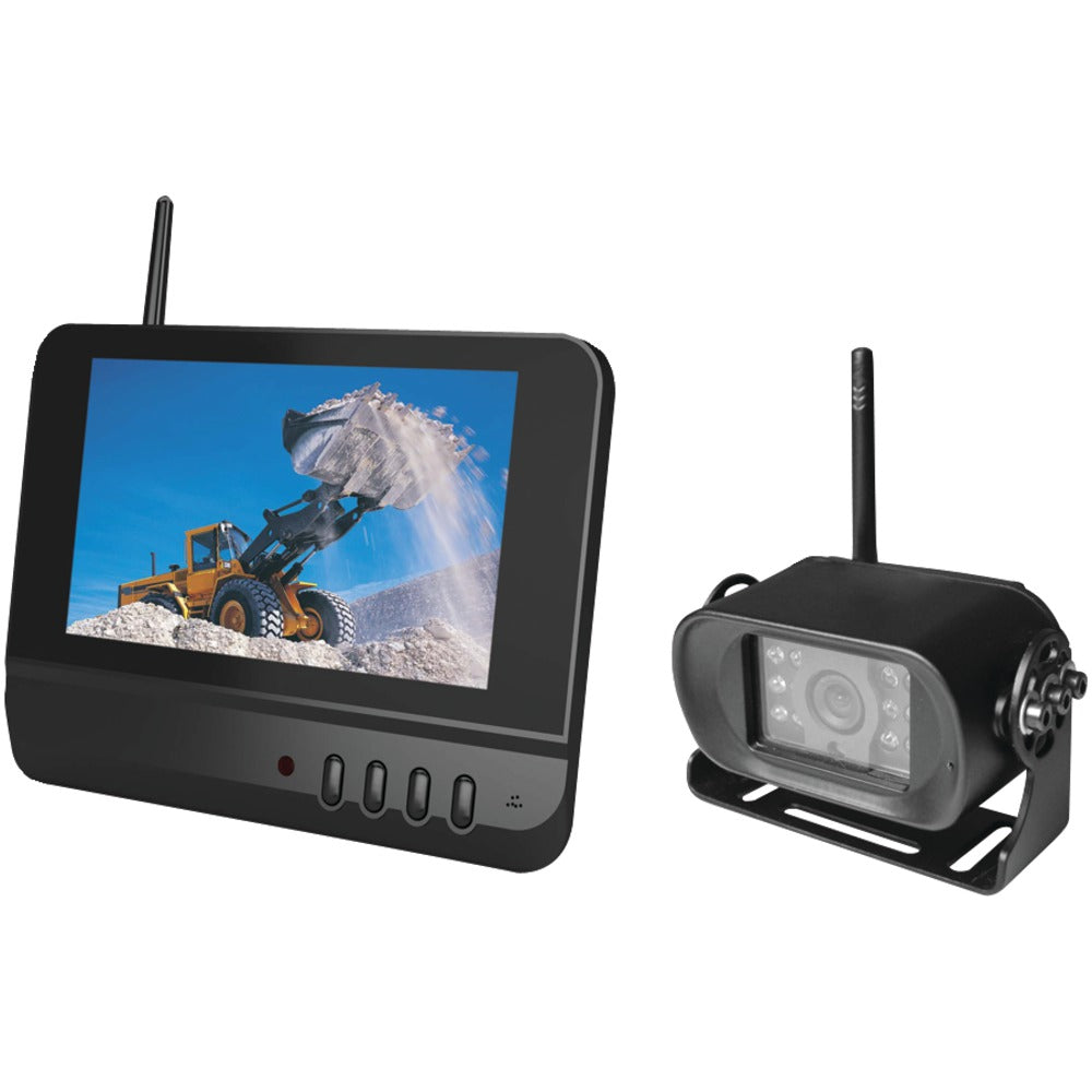 "Boyo 7"" 2.4ghz Digital Wireless Rearview System"