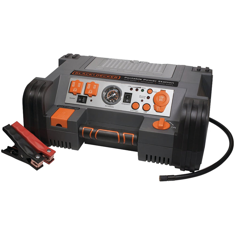 Black & Decker Professional Power Station With 120psi Air Compressor